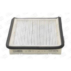 Filtro, ar do habitáculo CCF0078 para SEAT preços baixos - Compre agora!