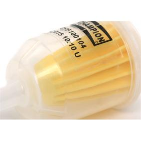 CFF100104 Fuel filter CHAMPION - Cheap brand products