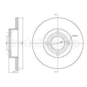 Disco de travão 800-062 CIFAM Pagamento seguro — apenas peças novas