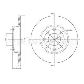 Disco de travão 800-080 CIFAM Pagamento seguro — apenas peças novas