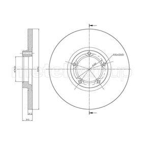 Disco de travão 800-163 CIFAM Pagamento seguro — apenas peças novas