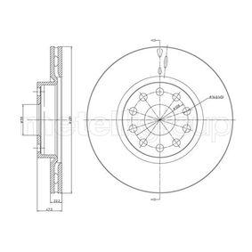Disque de frein 800-408 CIFAM Paiement sécurisé — seulement des pièces neuves