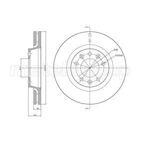 Disque de frein 800-887C CIFAM Paiement sécurisé — seulement des pièces neuves