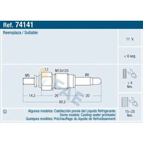 Glow Plug 74141 at a discount — buy now!