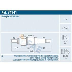 buy and replace Glow Plug FAE 74141