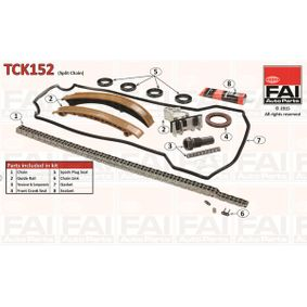 Timing Chain Kit FAI AutoParts Roller Chain, Duplex — item