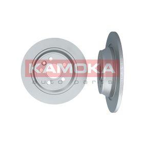 Disque de frein 1031013 KAMOKA Paiement sécurisé — seulement des pièces neuves