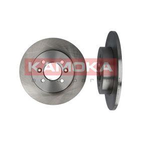 Disco de travão 1031107 KAMOKA Pagamento seguro — apenas peças novas