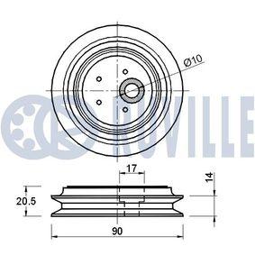 щанга/подпора, стабилизатор 915145 с добро RUVILLE съотношение цена-качество