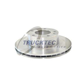Disco de travão 08.34.017 com uma excecional TRUCKTEC AUTOMOTIVE relação preço-desempenho