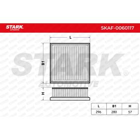 въздушен филтър SKAF-0060117 за NISSAN PRIMASTAR на ниска цена — купете сега!