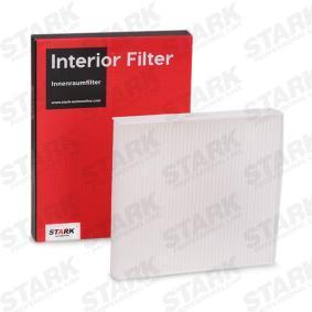 Filtro, ar do habitáculo SKIF-0170243 para NISSAN MURANO com um desconto - compre agora!