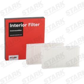 Filter, kupéventilation SKIF-0170161 för HONDA låga priser - Handla nu!