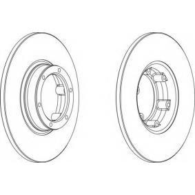 Disque de frein DDF016-1 pour RENAULT 4 à prix réduit — achetez maintenant!