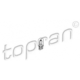 buy TOPRAN Bulb, instrument lighting 104 495 at any time