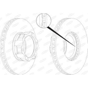 Bremsscheibe von BERAL - Artikelnummer: BCR118A