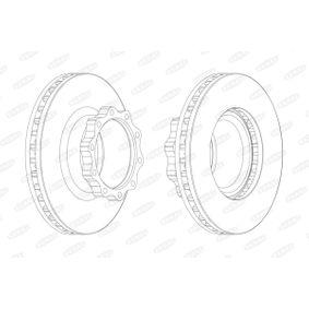 Bremsscheibe von BERAL - Artikelnummer: BCR147A