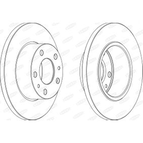 Brake Disc BCR195A BERAL Secure payment — only new parts