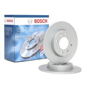 Disque de frein 0 986 479 B40 à un rapport qualité-prix BOSCH exceptionnel