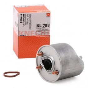 palivovy filtr KL 788 s vynikajícím poměrem mezi cenou a MAHLE ORIGINAL kvalitou