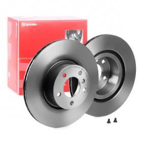 Brake Disc 09.B569.11 with an exceptional BREMBO price-performance ratio