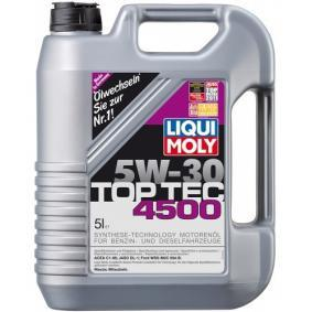 motor l liqui moly top tec 4500 5w 30 5l art nr. Black Bedroom Furniture Sets. Home Design Ideas