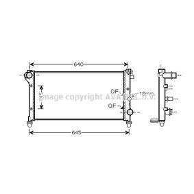 Radiatore, Raffreddamento motore FTA2379 con un ottimo rapporto PRASCO qualità/prezzo
