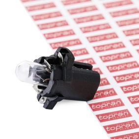 TOPRAN Glühlampe, Instrumentenbeleuchtung 103 628 rund um die Uhr online kaufen