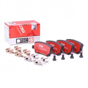 Brake Pad Set, disc brake GDB1685DTE for VOLVO XC60 at a discount — buy now!