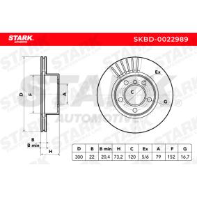 Disco freno STARK SKBD-0022989 comprare e sostituisci