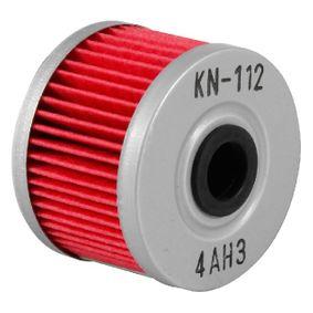 Filtre à huile KN-112 K&N Filters Paiement sécurisé — seulement des pièces neuves