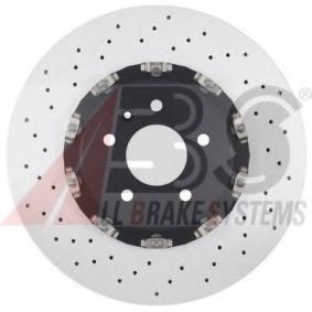 Disco freno 18370 OE con un ottimo rapporto A.B.S. qualità/prezzo