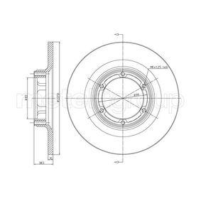 Disco de travão 23-0026 METELLI Pagamento seguro — apenas peças novas