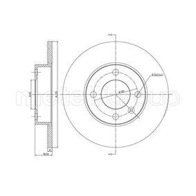 Disco de travão 23-0054 METELLI Pagamento seguro — apenas peças novas
