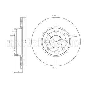 Disco de travão 23-0071 METELLI Pagamento seguro — apenas peças novas