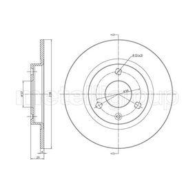 Disco de travão 23-0153 METELLI Pagamento seguro — apenas peças novas