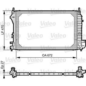 Achetez et remplacez Radiateur, refroidissement du moteur 735131