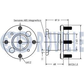 Compre e substitua Rótula da barra de direcção RUVILLE 916722