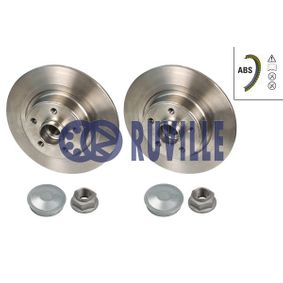 Disque de frein 5583BD RUVILLE Paiement sécurisé — seulement des pièces neuves