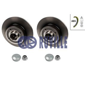 Brake Disc 5586BD RUVILLE Secure payment — only new parts