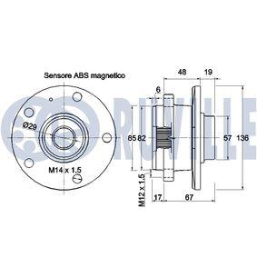 Disque de frein 5586BD RUVILLE Paiement sécurisé — seulement des pièces neuves