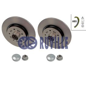 Disque de frein 5591BD RUVILLE Paiement sécurisé — seulement des pièces neuves