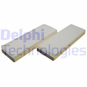 филтър, въздух за вътрешно пространство TSP0325188 за AUDI A6 на ниска цена — купете сега!