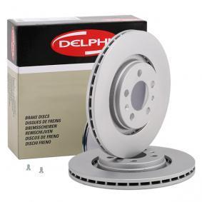 Bremsscheibe von DELPHI - Artikelnummer: BG3036C