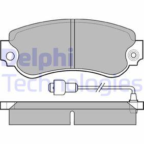 Jeu de plaquettes de frein, frein à disque LP232 pour SEAT petits prix - Achetez tout de suite!