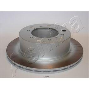 Bremsscheibe von ASHIKA - Artikelnummer: 61-0H-005