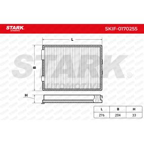 buy STARK Filter, interior air SKIF-0170255 cheap