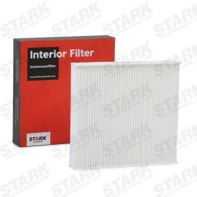 Interieurfilter SKIF-0170322 voor RENAULT LOGAN met een korting — koop nu!