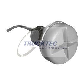 Vis, bouchon de radiateur 08.40.017 TRUCKTEC AUTOMOTIVE Paiement sécurisé — seulement des pièces neuves