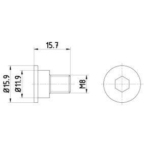 TEXTAR Schraube, Bremsscheibe TPM0003 Günstig mit Garantie kaufen
